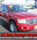 dodge dakota 2008 maroon laramie gasoline 8 cylinders 4 wheel drive automatic 99212