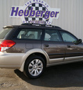 subaru outback 2008 deep bronze wagon 2 5i ltd l l  bean edition gasoline 4 cylinders all whee drive automatic 80905