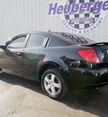 saturn ion 2006 black coupe 3 gasoline 4 cylinders front wheel drive 5 speed manual 80905