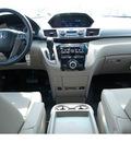 honda odyssey 2012 dark cherry pearl i van ex l w dvd gasoline 6 cylinders front wheel drive 5 speed automatic 77065
