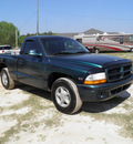 dodge dakota 1998 green pickup truck gasoline v6 rear wheel drive automatic 32447