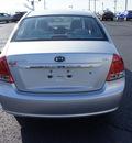 kia spectra 2009 silver sedan ex gasoline 4 cylinders front wheel drive automatic 19153