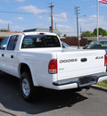 dodge dakota 2001 white sport gasoline 6 cylinders 4 wheel drive automatic 27591