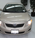 toyota corolla 2010 tan sedan le gasoline 4 cylinders front wheel drive automatic 91731
