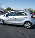 kia rio5 2012 bright silver hatchback ex gasoline 4 cylinders front wheel drive automatic 19153