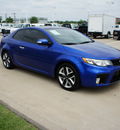 kia forte koup 2010 blue coupe sx gasoline 4 cylinders front wheel drive automatic 76108