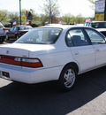 toyota corolla 1996 white sedan dx gasoline 4 cylinders front wheel drive automatic with overdrive 80229