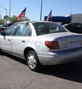 saturn s series 2000 silver sedan sl1 gasoline 4 cylinders front wheel drive automatic 80229