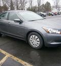 honda accord 2010 gray sedan lx gasoline 4 cylinders front wheel drive automatic 13502