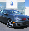 volkswagen gti 2012 gray hatchback pzev gasoline 4 cylinders front wheel drive 6 speed automatic 46410