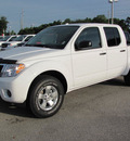 nissan frontier 2012 white sv gasoline 6 cylinders 2 wheel drive automatic 33884