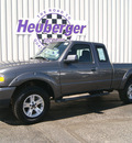 ford ranger 2006 dark shadow grey sport gasoline 6 cylinders 4 wheel drive automatic 80905
