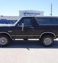 ford bronco 1990 black suv xlt gasoline 8 cylinders 4 wheel drive 77388