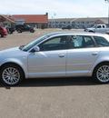 audi a3 2007 lt  gray wagon 2 0 premium gasoline 4 cylinders front wheel drive 6 speed manual 55811