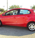 mazda mazda2 2012 red hatchback touring gasoline 4 cylinders front wheel drive automatic 32901