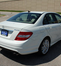 mercedes benz c class 2009 white sedan c300 4matic luxury gasoline 6 cylinders all whee drive automatic 67210