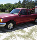 ford ranger 1994 maroon gasoline 4 cylinders rear wheel drive 4 speed with overdrive 32447