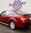 subaru legacy 2011 ruby red sedan 3 6r limited gasoline 6 cylinders all whee drive automatic 80905