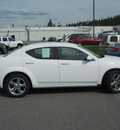 dodge avenger 2011 white sedan lux gasoline 4 cylinders front wheel drive automatic 99212