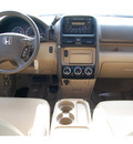 honda cr v 2006 beige suv special edition gasoline 4 cylinders all whee drive automatic 77065