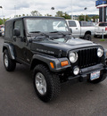 jeep wrangler 2003 black suv rubicon gasoline 6 cylinders 4 wheel drive 5 speed manual 98371