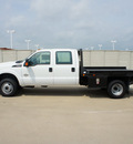 ford f 350 super duty 2011 white xl biodiesel 8 cylinders 4 wheel drive automatic 76108