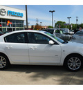 mazda mazda3 2009 white sedan s sport gasoline 4 cylinders front wheel drive automatic 07702