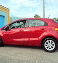 kia rio 2012 dk  red hatchback lx gasoline 4 cylinders front wheel drive automatic 32901