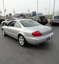 acura 3 2cl 2001 silver coupe type s gasoline 6 cylinders front wheel drive automatic with overdrive 60462