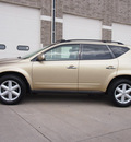 nissan murano 2004 gold suv se gasoline 6 cylinders all whee drive automatic 80301