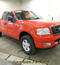 ford f 150 2005 red stx gasoline 8 cylinders 4 wheel drive automatic 14304