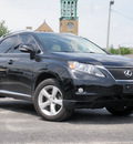 lexus rx 350 2010 black suv awd gasoline 6 cylinders all whee drive shiftable automatic 61832