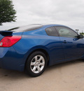 nissan altima 2009 blue coupe 2 5 s gasoline 4 cylinders front wheel drive automatic 76018