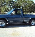 chevrolet 1500 silverado 1990 blue pickup truck gasoline v8 rear wheel drive automatic 32901