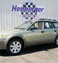 subaru outback 2006 willow green wagon 2 5i gasoline 4 cylinders all whee drive automatic 80905