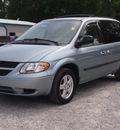 dodge caravan 2005 lt  blue van sxt gasoline 6 cylinders front wheel drive automatic 27569