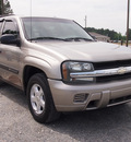 chevrolet trailblazer 2003 lt  gray suv ls gasoline 6 cylinders rear wheel drive automatic 27569