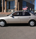 toyota camry 1996 tan sedan le gasoline 4 cylinders front wheel drive automatic with overdrive 80229