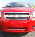 chevrolet aveo 2011 red sedan lt gasoline 4 cylinders front wheel drive automatic 60007