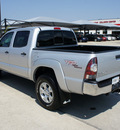 toyota tacoma 2011 silver gasoline 6 cylinders 4 wheel drive automatic 76087
