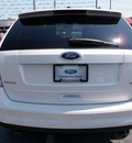 ford edge 2009 white suv sel gasoline 6 cylinders front wheel drive automatic 32401