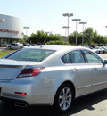 acura tl 2012 silver sedan tech gasoline 6 cylinders front wheel drive automatic with overdrive 60462