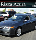 acura tsx 2008 gray sedan tech gasoline 4 cylinders front wheel drive automatic with overdrive 60462