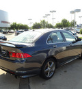 acura tsx 2006 dk  gray sedan gasoline 4 cylinders front wheel drive automatic with overdrive 60462