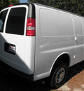 chevrolet express cargo 2011 white van 2500 flex fuel 8 cylinders rear wheel drive automatic 34474