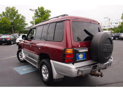 mitsubishi montero 2000 cambridge red suv endeavor gasoline 6 cylinders sohc 4 wheel drive automatic with overdrive 07701