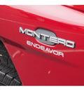 mitsubishi montero 2000 cambridge red suv endeavor gasoline 6 cylinders sohc 4 wheel drive automatic with overdrive 07701