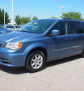 chrysler town and country 2012 blue van touring flex fuel 6 cylinders front wheel drive automatic 46168