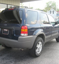 ford escape 2002 blue suv xlt choice gasoline 6 cylinders 4 wheel drive automatic with overdrive 45840