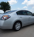 nissan altima 2011 silver sedan 2 5 s gasoline 4 cylinders front wheel drive automatic 76018
